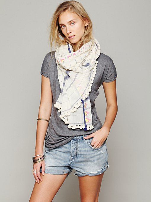 Triangle Saatvik Scarf in sale-sale-accessories