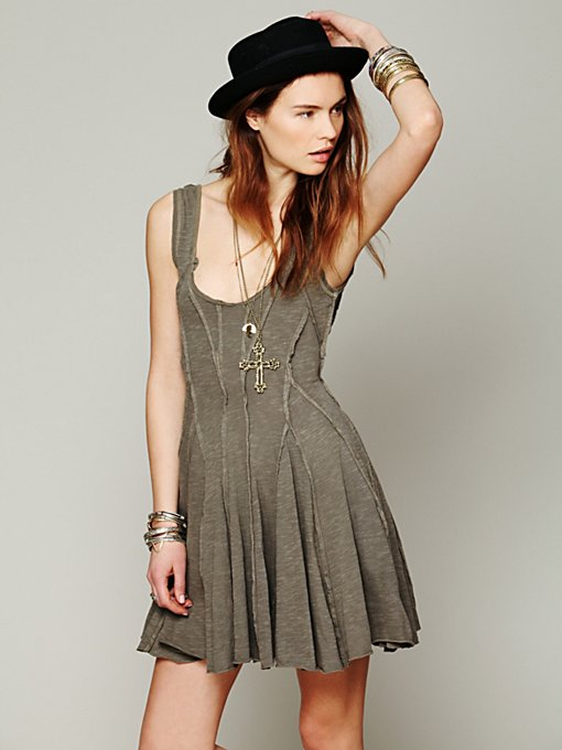 Free People Shake Your Tail Feather Dress in summer-dresses