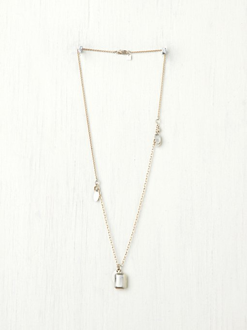 Anna Sheffield  Lure Locket Necklace in bib-necklaces