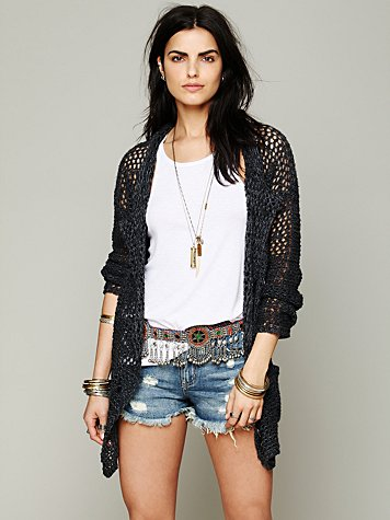 Free People Viva Maria Sweater Jacket