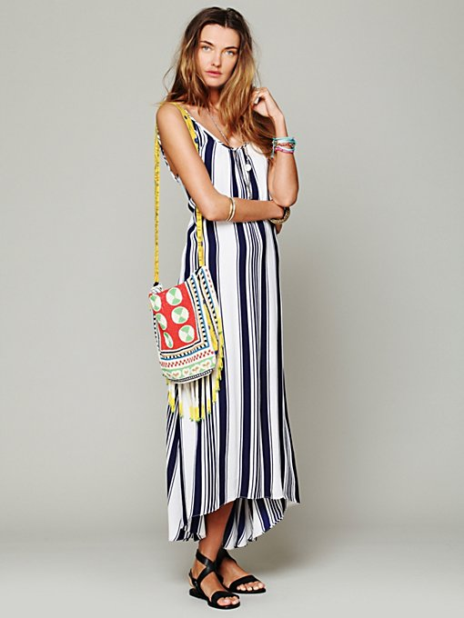 Flynn Skye for Free People Nautical Stripe Maxi in sundresses
