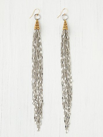 Vanessa Mooney Chain Fringe Earring