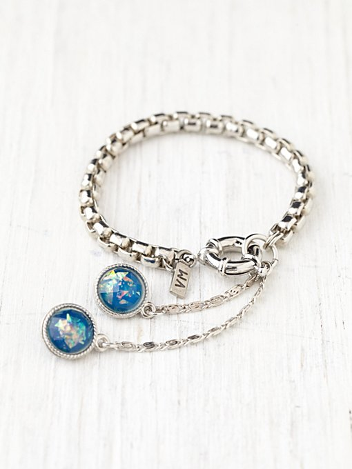 Vanessa Mooney Stone Ball Drop Bracelet in bracelets