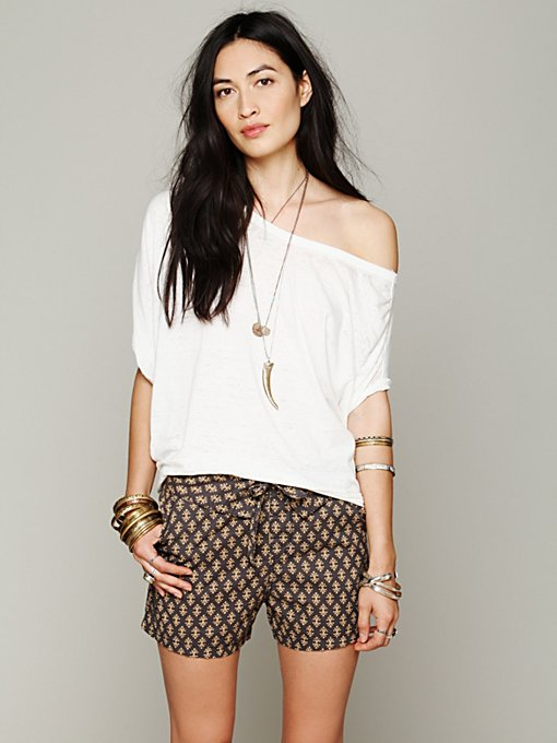 Free People Wrapped Harem Short in Shorts