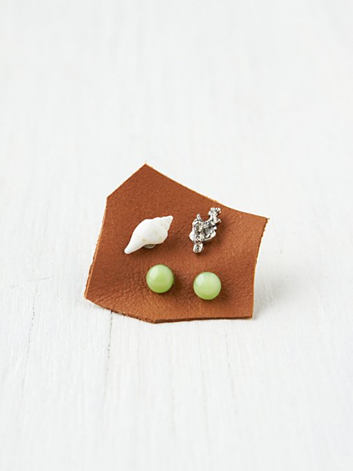 Free People Novelty Sea Studs in boutique-rings-earrings