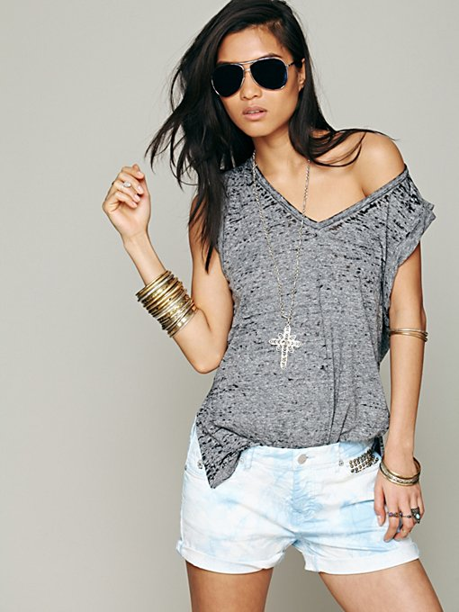 Free People We The Free Kirkland Muscle Tank in knit-tops