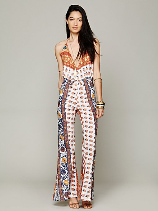 Novella Royale  Lady Tangier Jumpsuit in rompers