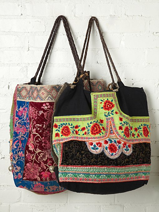 JP & Mattie Hill Tribal Bag in tote-bags