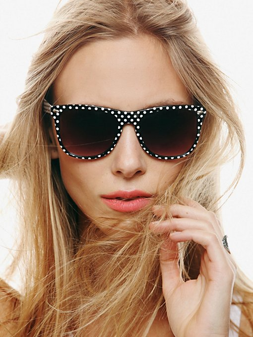 Free People Printed Wayferer Sunglasses in sunglasses