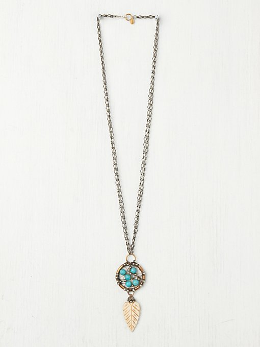 Turquoise Dream Catcher Pendant in mar-13-catalog-items