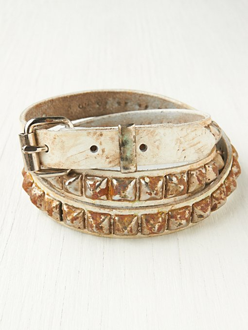 Kahlo Stud Belt in sale-sale-under-50