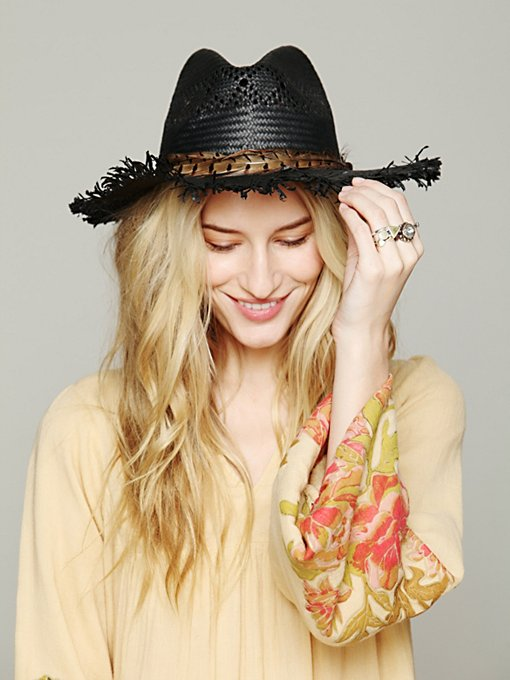 Felio Straw Hat in accessories-hats-fedoras-caps