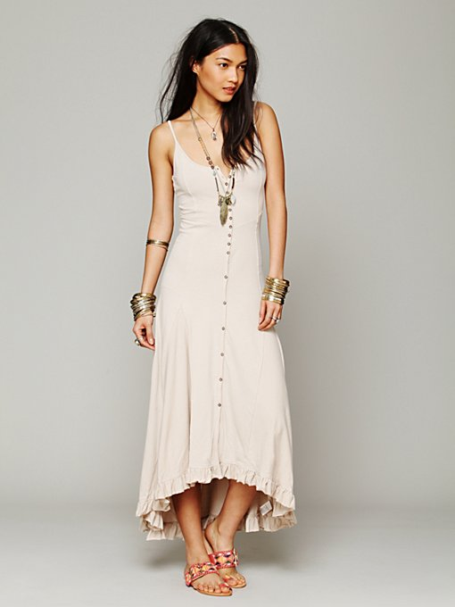 Free People Solid Nice As Pie Dress in maxi-dresses