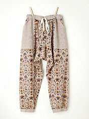 Paisley Mixed Pant in fp-body