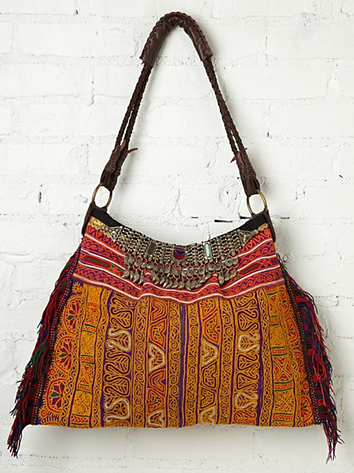 JADEtribe Vintage Necklace Hobo in Bags-Wallets