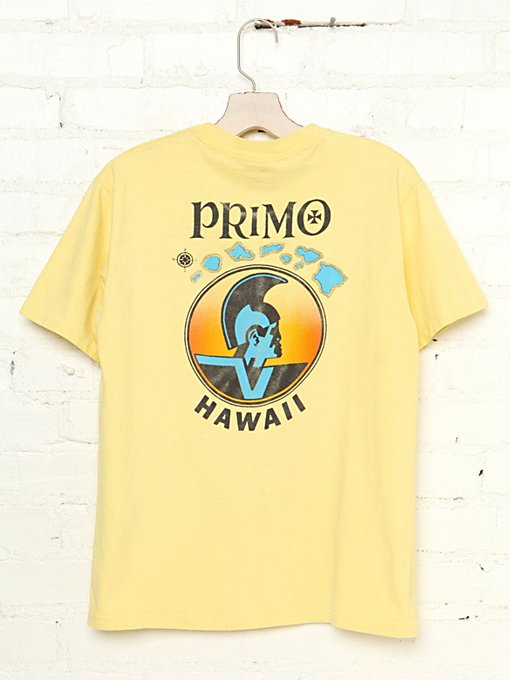 Vintage PRIMO Hawaii Graphic Tee in Vintage-Loves-vintage-tees