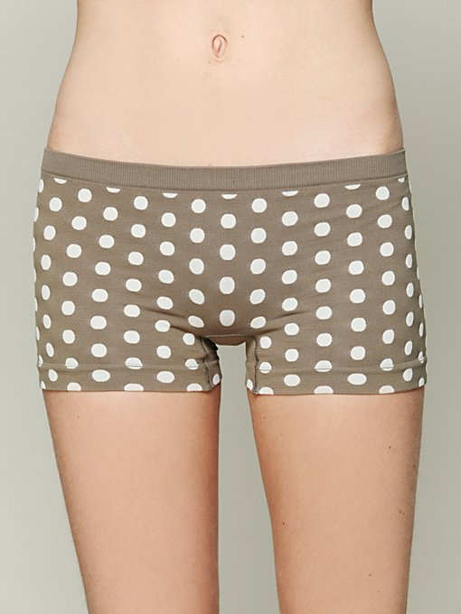 Intimately Dot Print Boyshort in boy-shorts