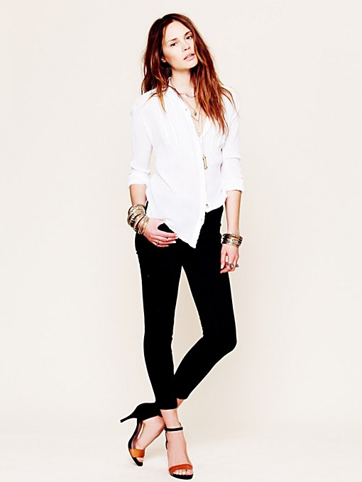 Free People Lightweight Stretch Ankle Skinny in skinny-jeans
