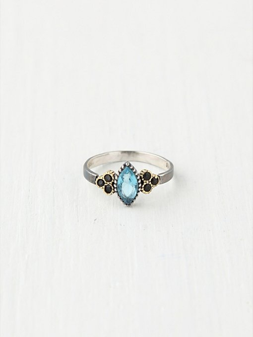 Bora Diamond Stone Ring in bohemian-rings