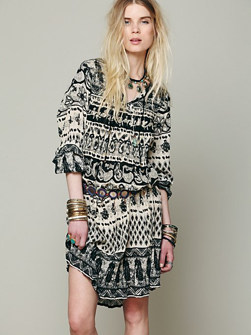 Free People Serra Do Mar Tunic in Shift-Dresses