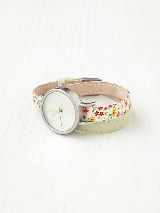 Petal Print Wrap Watch in accessories-jewelry