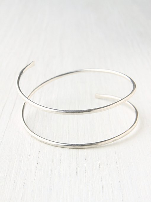 Double Spiral Cuff in accessories-jewelry-bracelets