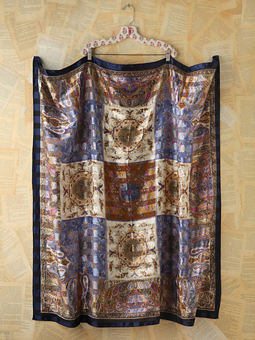 Free People Vintage Printed Scarf in Vintage-Jewelry