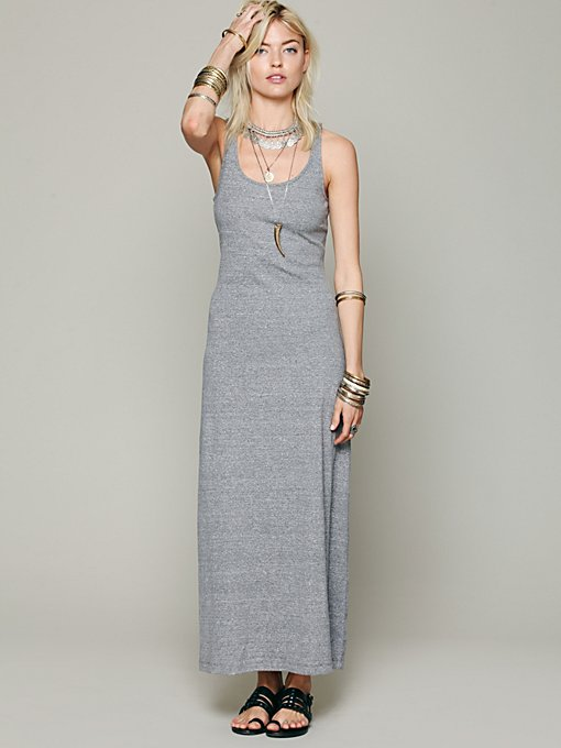 Free People Solid Maya Maxi in Beach-Dresses