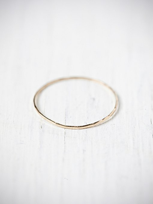 Catbird Threadbare Stacking Ring in jewelry