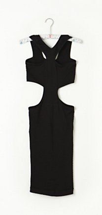 Cut Out Seamless Bodycon in intimates-slips-and-bloomers-slips