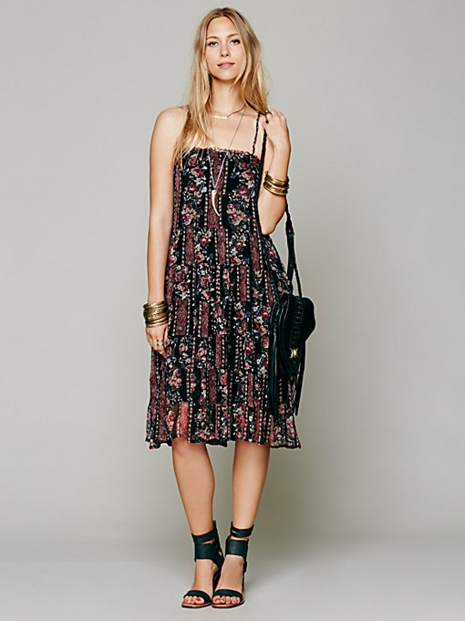 Free People Jessie's Floral Swing Dress in Evening-Dresses