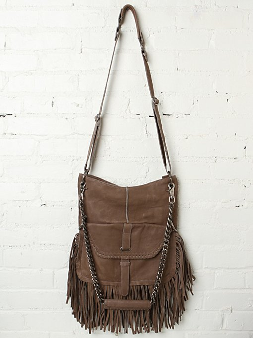 Lia Fringe Chain Tote in accessories-bags