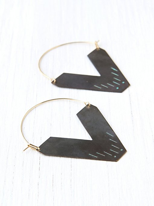 Sea Worthy Zand Earring in jewelry