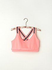 Criss Cross Sports Bra in fp-body