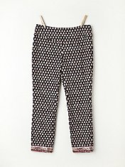 Print Yoga Crop Pant in fp-body