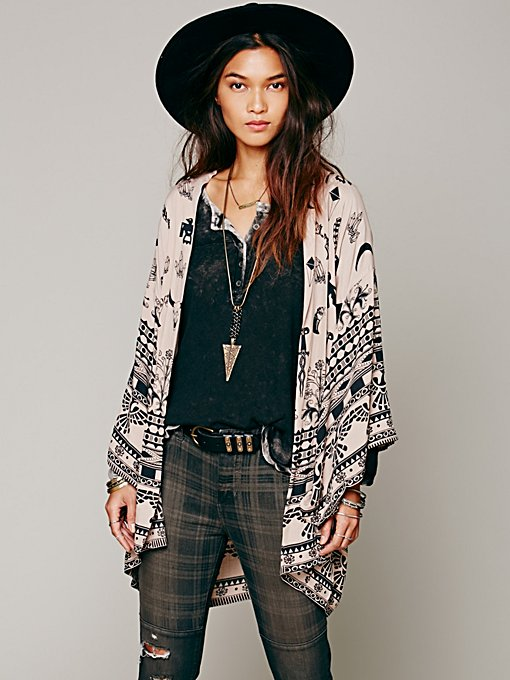 Boho Tribal Kimono in whats-new