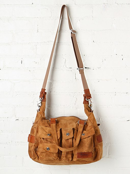 Distressed Utility Tote in accessories-bags