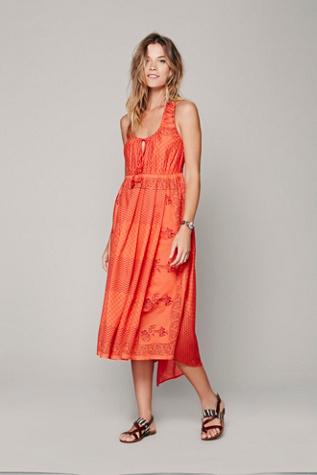 FP New Romantics Afrikana Handkerchief Dress