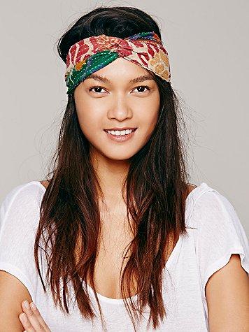 Sale alerts for  Kantha Crossover Headband - Covvet