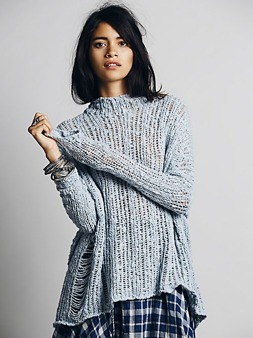 Ladder Stitch Pullover