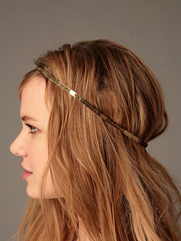 Sequin Halo Headband :  fairy headband sequin headband halo headband