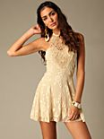 Flirty Lace Mini Dress